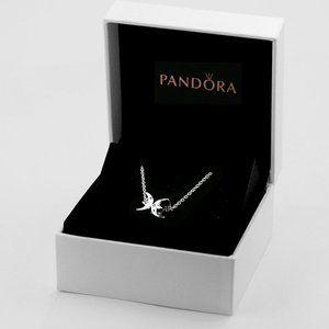 🎆NWT Pandora Sparkling Pisces Zodiac Necklace